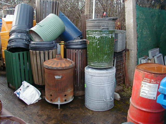 Street Bins - Street bins