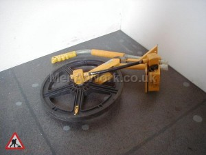 Surveying Measuring Wheel – Modern - Surveyors Measuring Wheel Collapsed