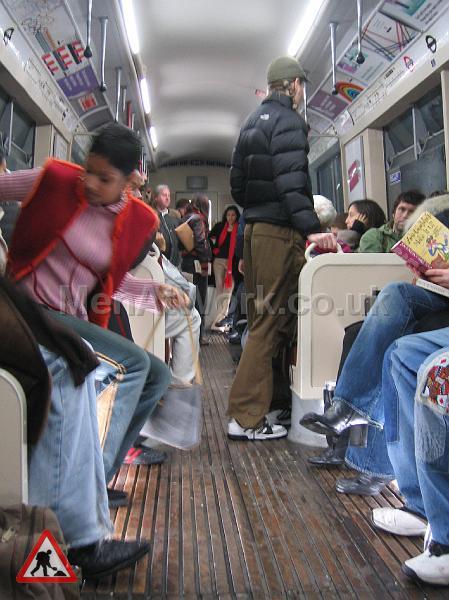 Tube Train Carriage – Dressed - TRAIN FILMING 4