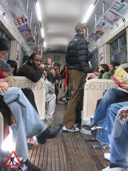 Tube Train Carriage – Dressed - TRAIN FILMING 5