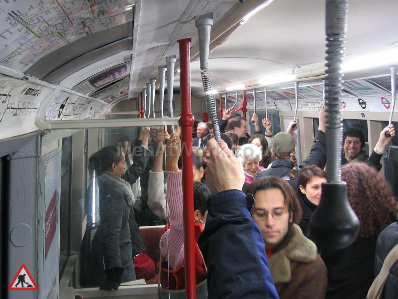Tube Train Carriage – Dressed - TRAIN FILMING 6