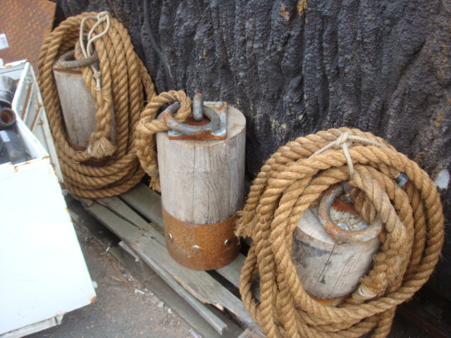 Timber Poles with Rope Barrier - Timber Poles with rope barrier