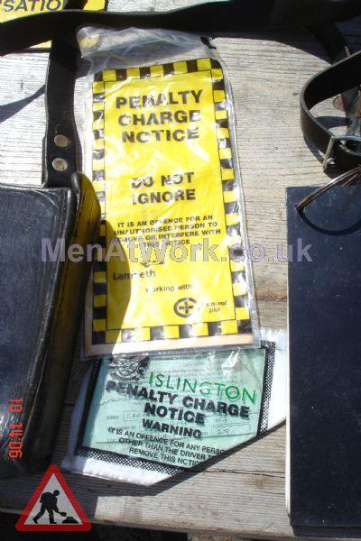 Traffic Warden Kit - Traffic Warden Ticket Wallets