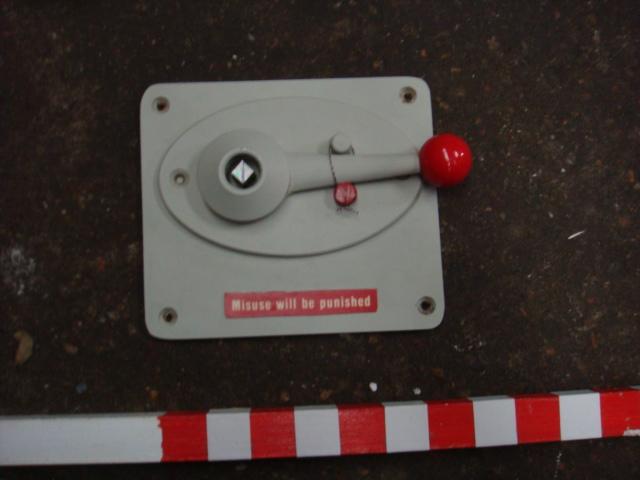 Train Emergency Stop Handles - Train Emergency Stop Handles (2)