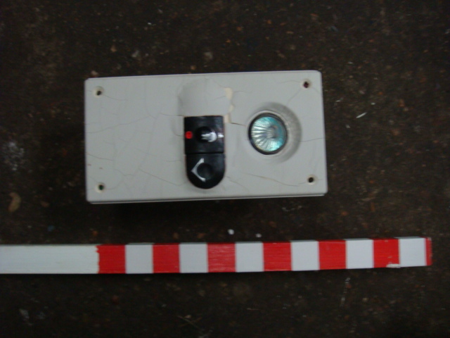Train Overhead Light & Switch - Train Overhead Light & Switch