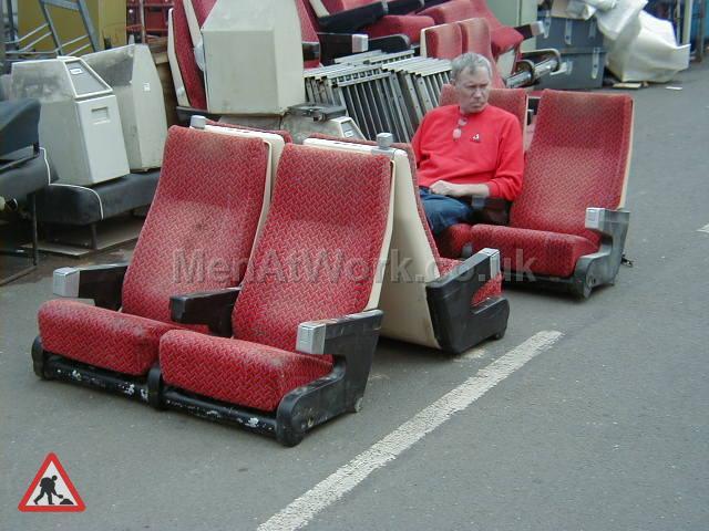 Train Seating - Train Seating (2)