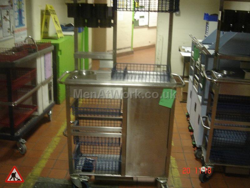 Train Food Trolley - Train food trolley