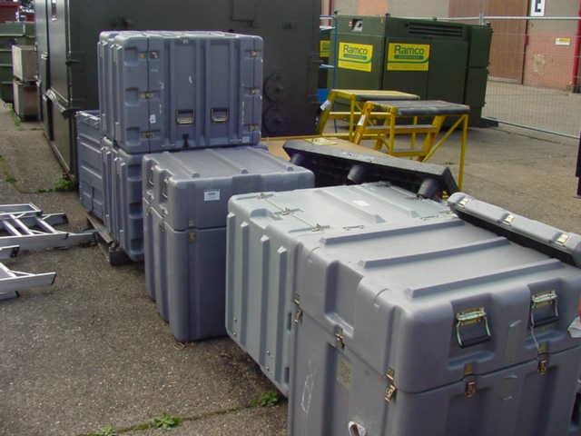 Transit Cases Grey - Transit Cases Grey 6 off