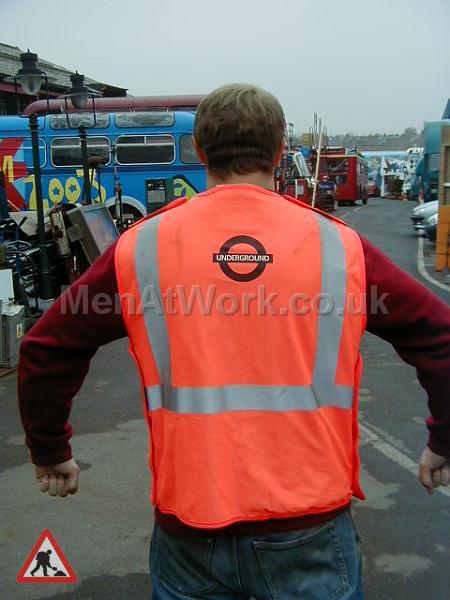 Underground Workers Waitcoat - Underground Workers Waistcoat (2)