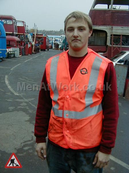 Underground Workers Waitcoat - Underground Workers Waistcoat