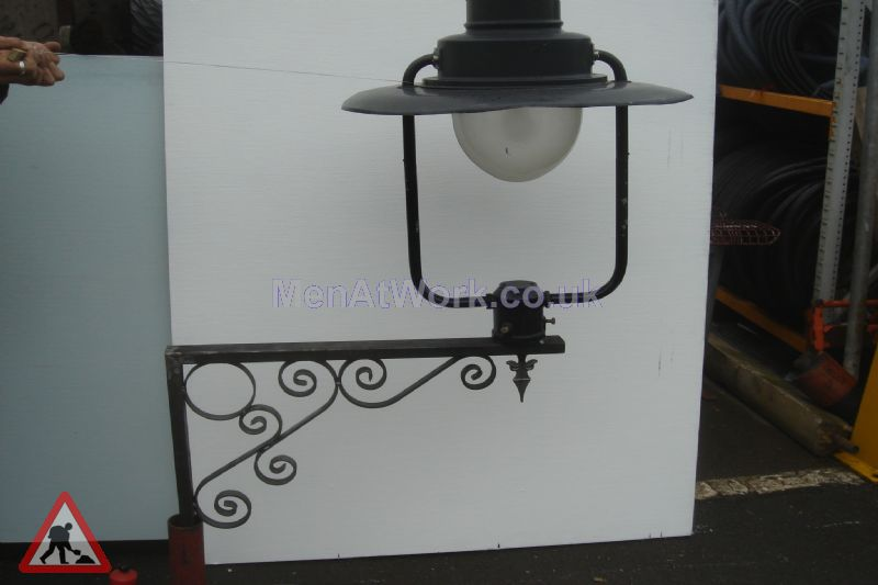 Men At Work Wall Mounted Gas Type Lamp