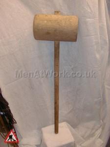 Wooden mallet - Wooden mallet