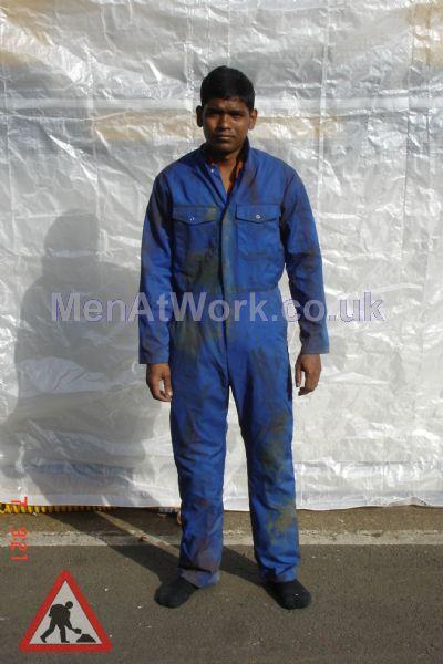 Blue Boilersuit - blue boilersuit