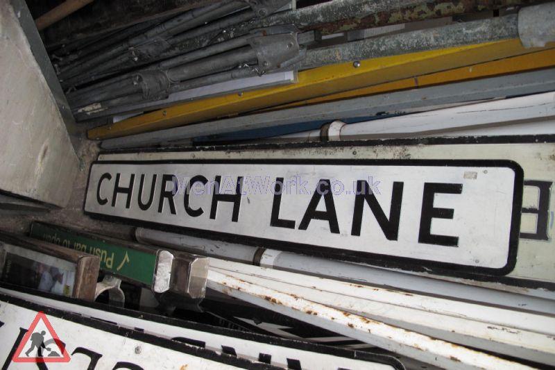 Street Names A-F - church lane