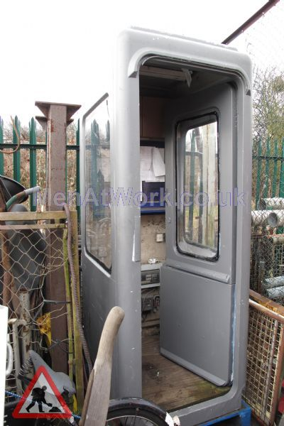 Security Huts - grey hut security hut2