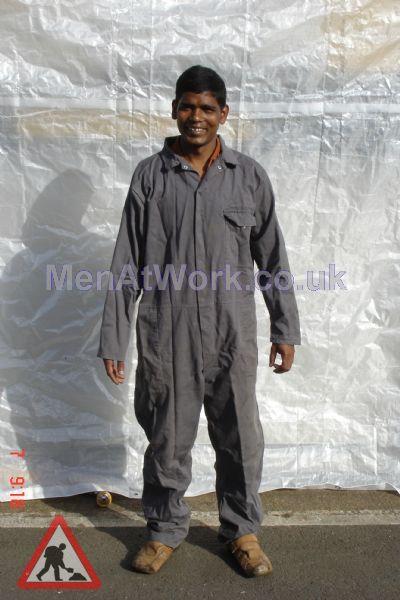 Grey Overall - grey  overall