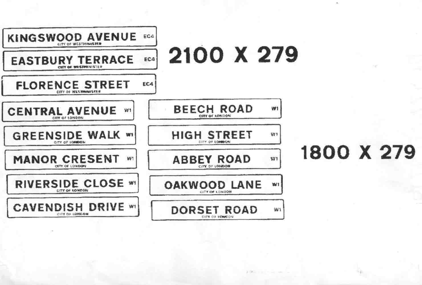 Street Names – Reference Images - road-annd-street-signs