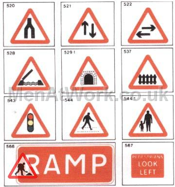 Road Signs – Reference Images - signs1