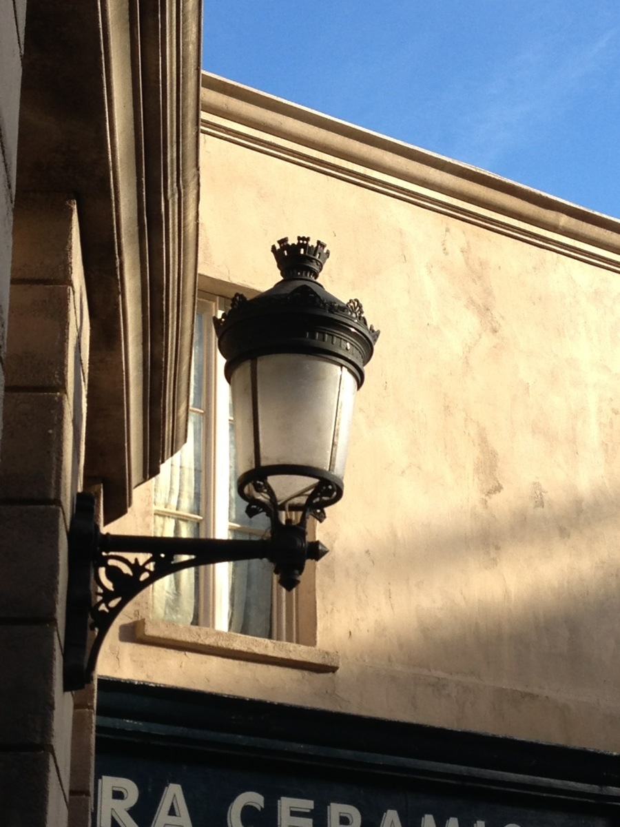 Wall Mounted Street Lamps : Men At Work French Street Light Wall Mounted