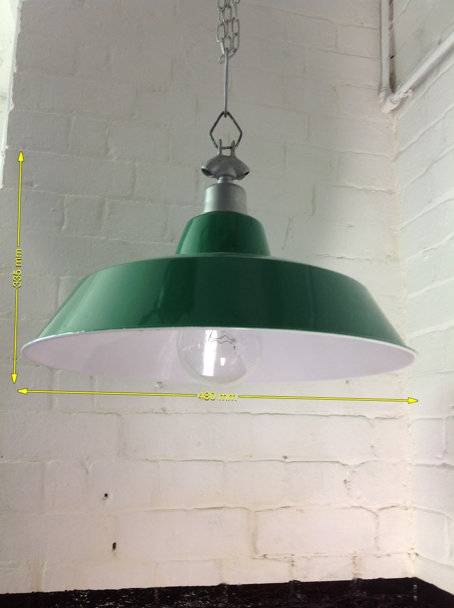 Industrial Lights - Coolie Light 14ins Droop 19ins Across 10 Available
