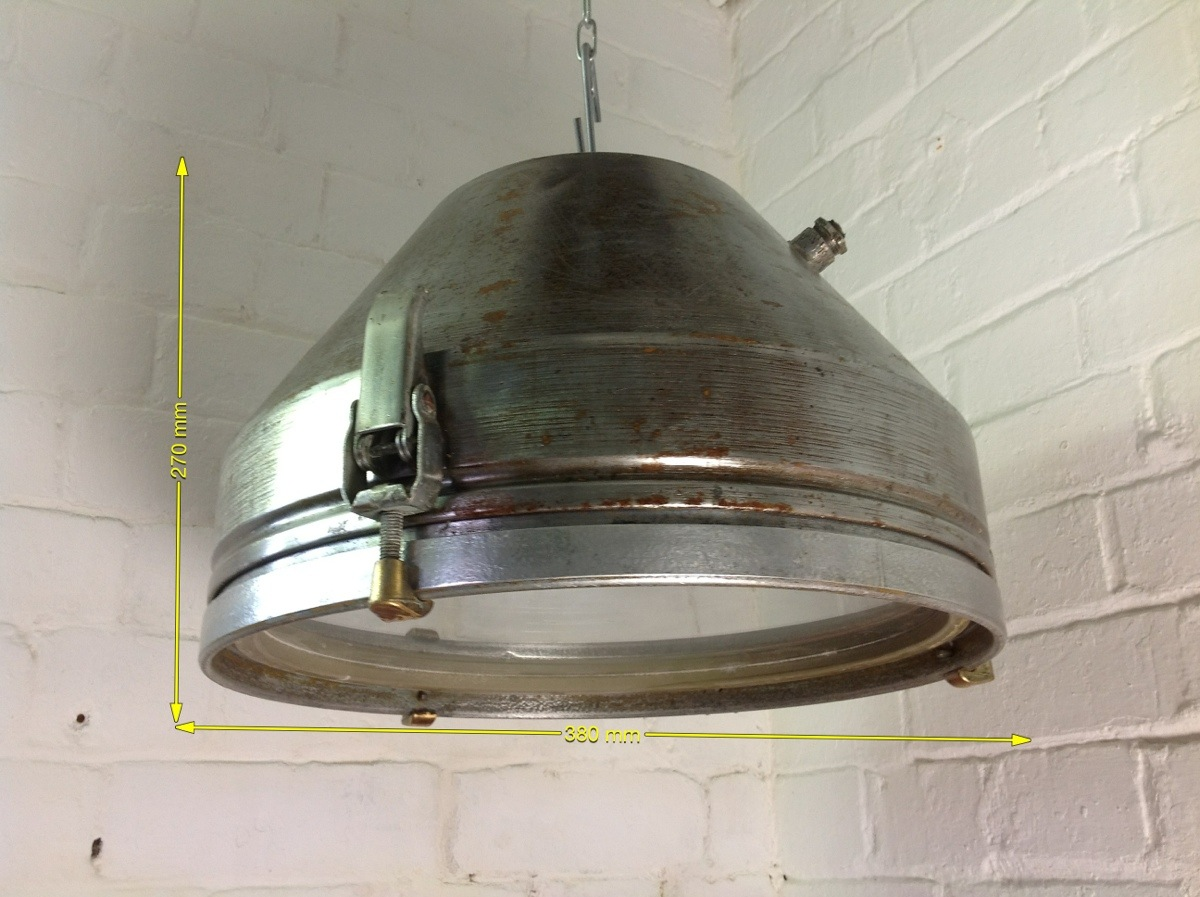 Industrial Lights - Industrial Pendant Light 15in across x 13in drop 10 Available