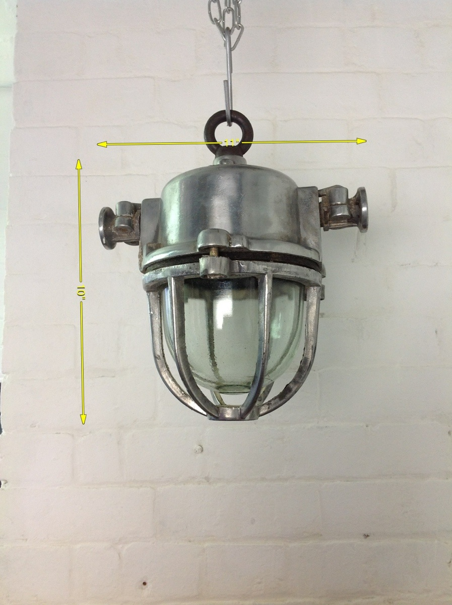 Industrial Lights - Pendant Industrial Light 10ins Drop 10 Available