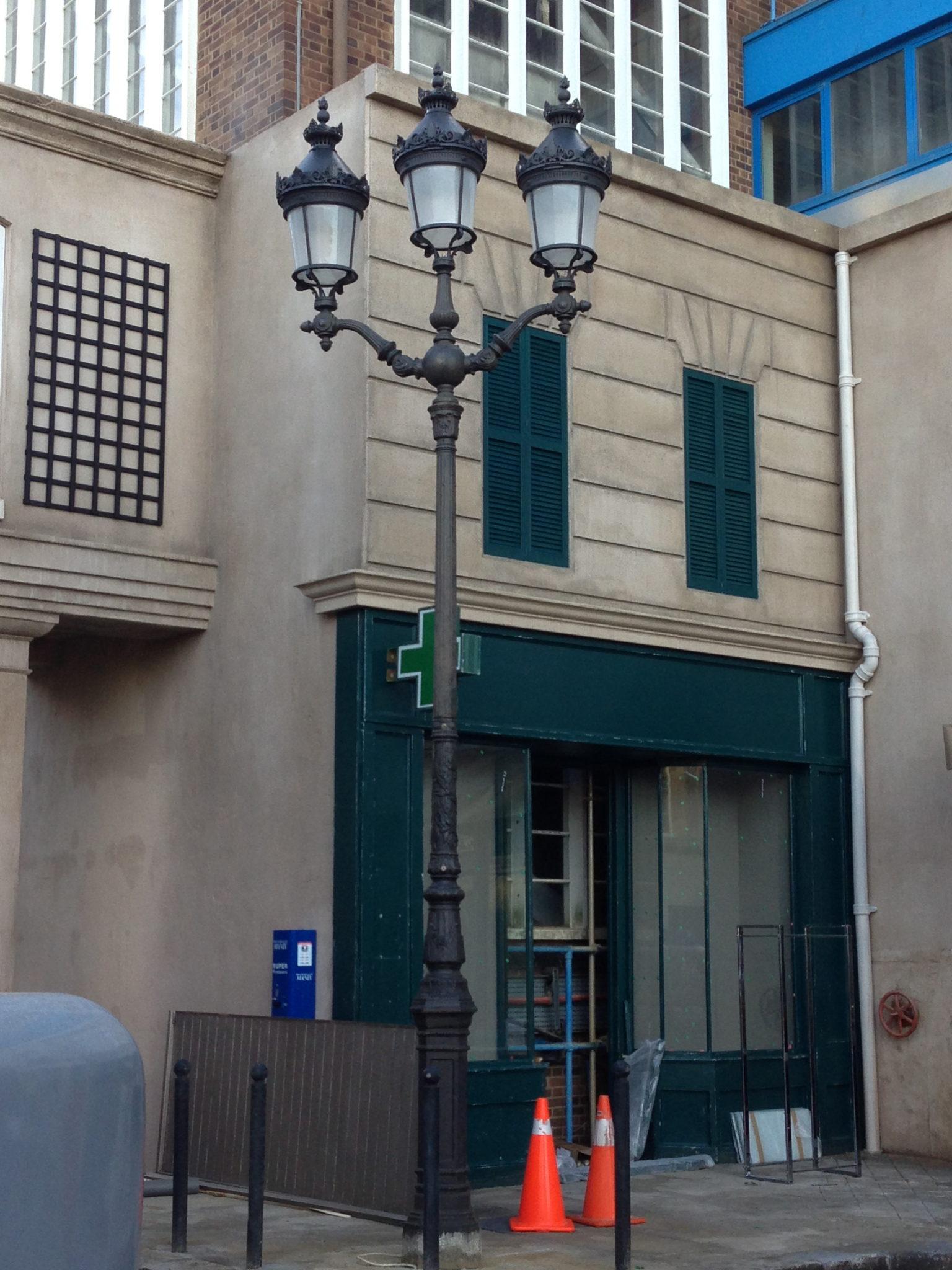 French Street Light - French Street Light Triple Head