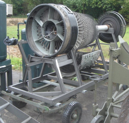 Jet Engine on Trolley - Jet Engine on Trolley