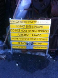 Aircraft Maintenance Sign - Aircraft Maintenance Sign