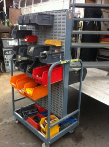 Mobile Parts Container Trolley 2 Available - Mobile Parts Trolley