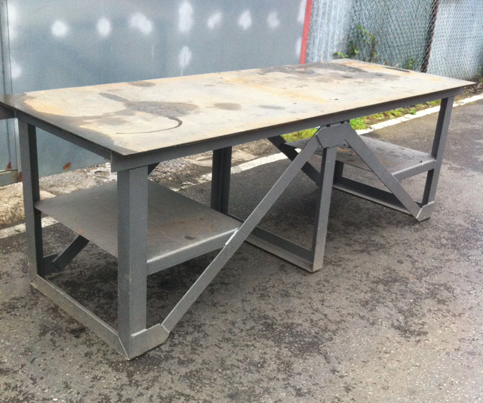 Men At Work Work Bench Steel 5 Available