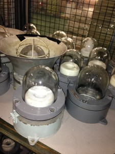 Explosive Proof Bulkhead Lights 45 Available - Explosive Proof Light 45 Available