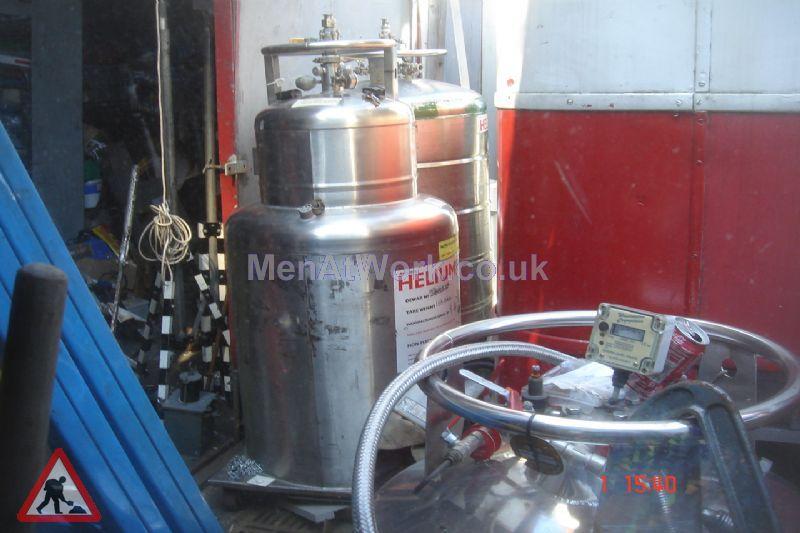 Nitrogen Tanks - Liquid Gas Container