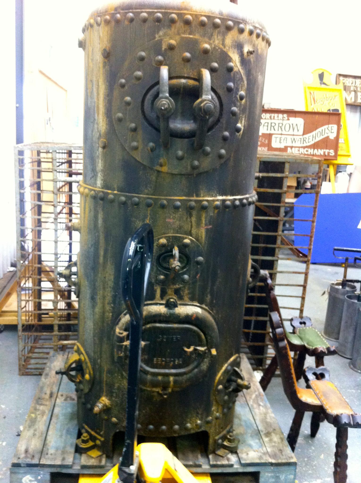 Vertical Boiler - Vertical Boiler