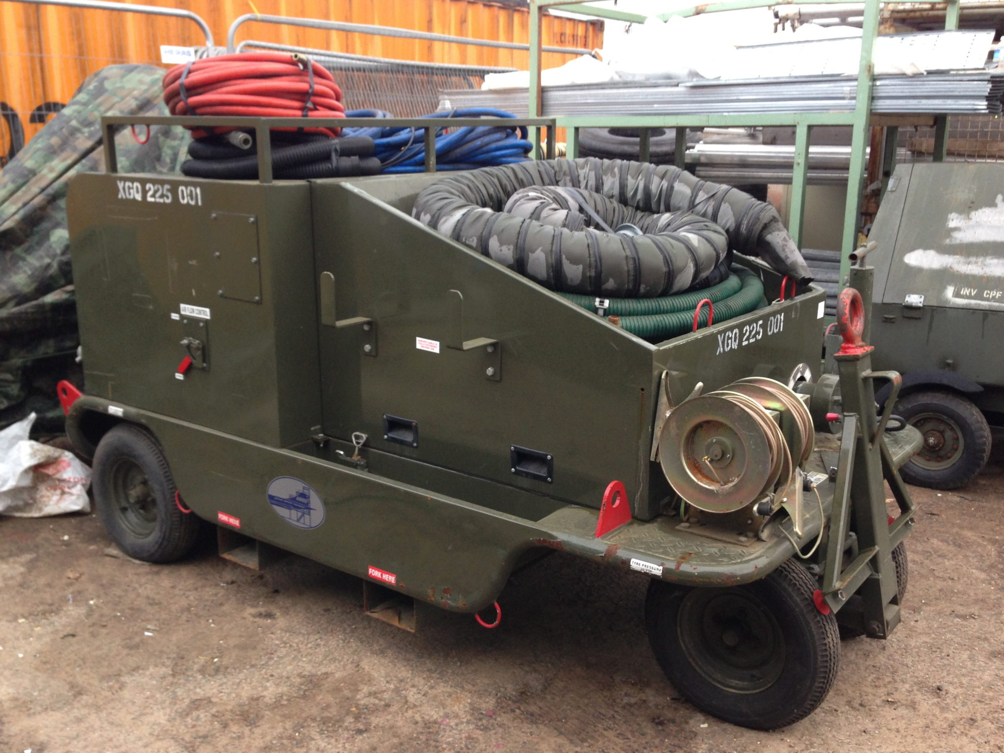 Aircraft Fuel Tank Maintenance Trolley 2 Available - Aircraft Fuel Tank Maintenance Trolley