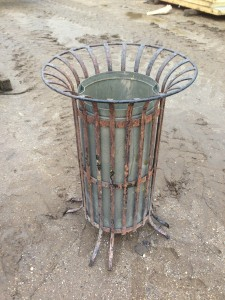 French Litter Bin 4 Available - Litter Bin