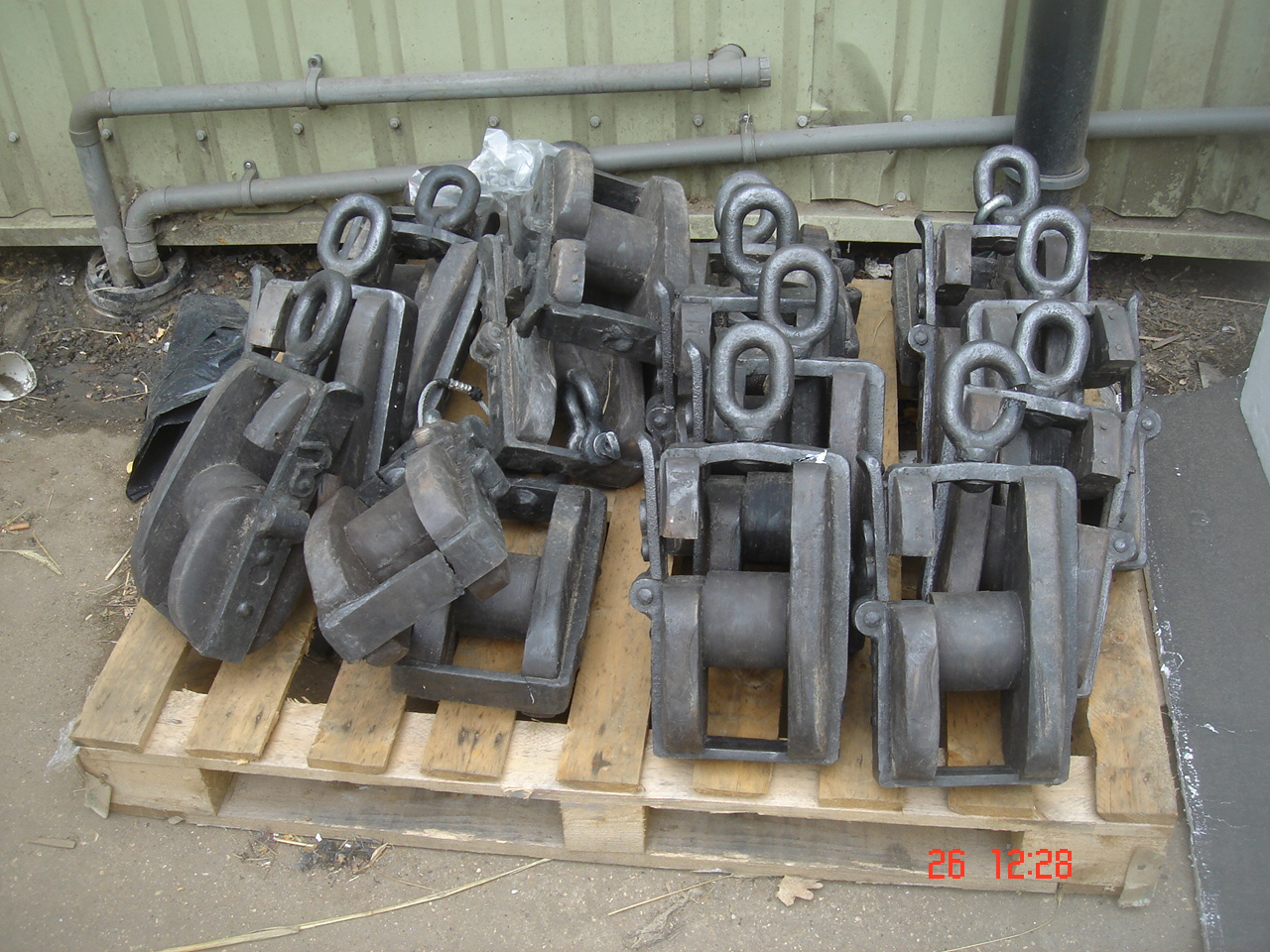 Pulley Blocks - Prop Pulley Blocks