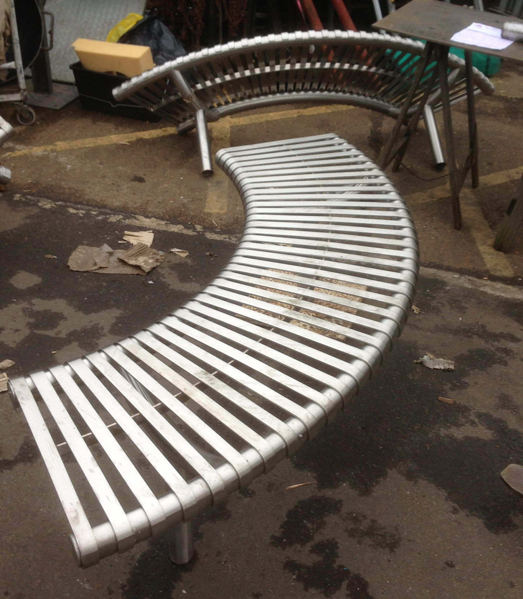 Bench Stainless 4 Available - Bench Stainless
