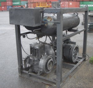 Compressor and Air Receiver - Compressor and Air Receiver