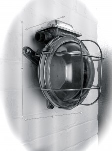 Bulkhead Light Stainless 10 Available -