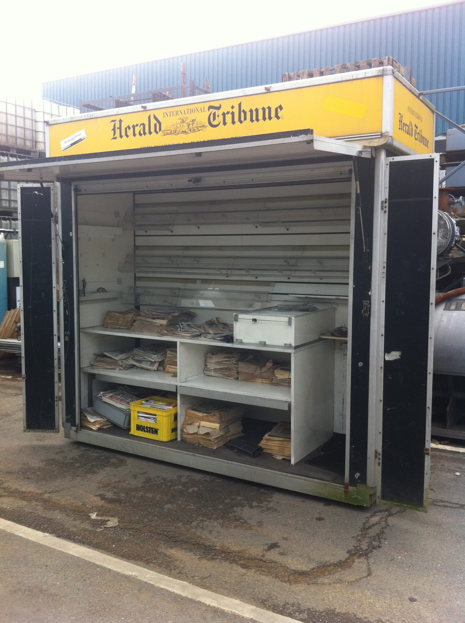 Newspaper Souvenir Stand -
