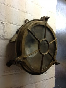 Round Brass Bulkhead Light - Brass Bulkhead Light