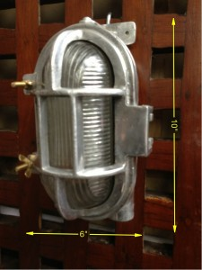 Bulkhead Light 10 ins x 6 ins 10 Available - Bulkhead Light Small
