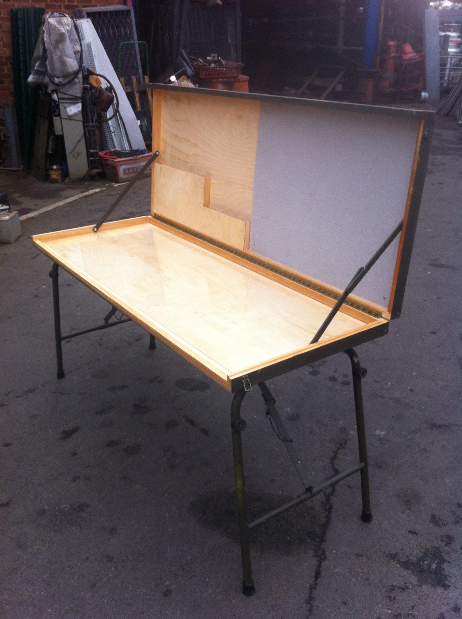 Map Table Folding - Folding Map Table