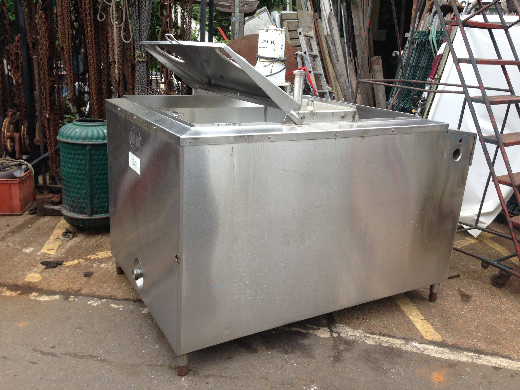 Stainless Mixing Tank 2 Available - IMG_4574