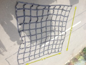 Cargo Net 20 Available 3m x 3m - Cargo Nett