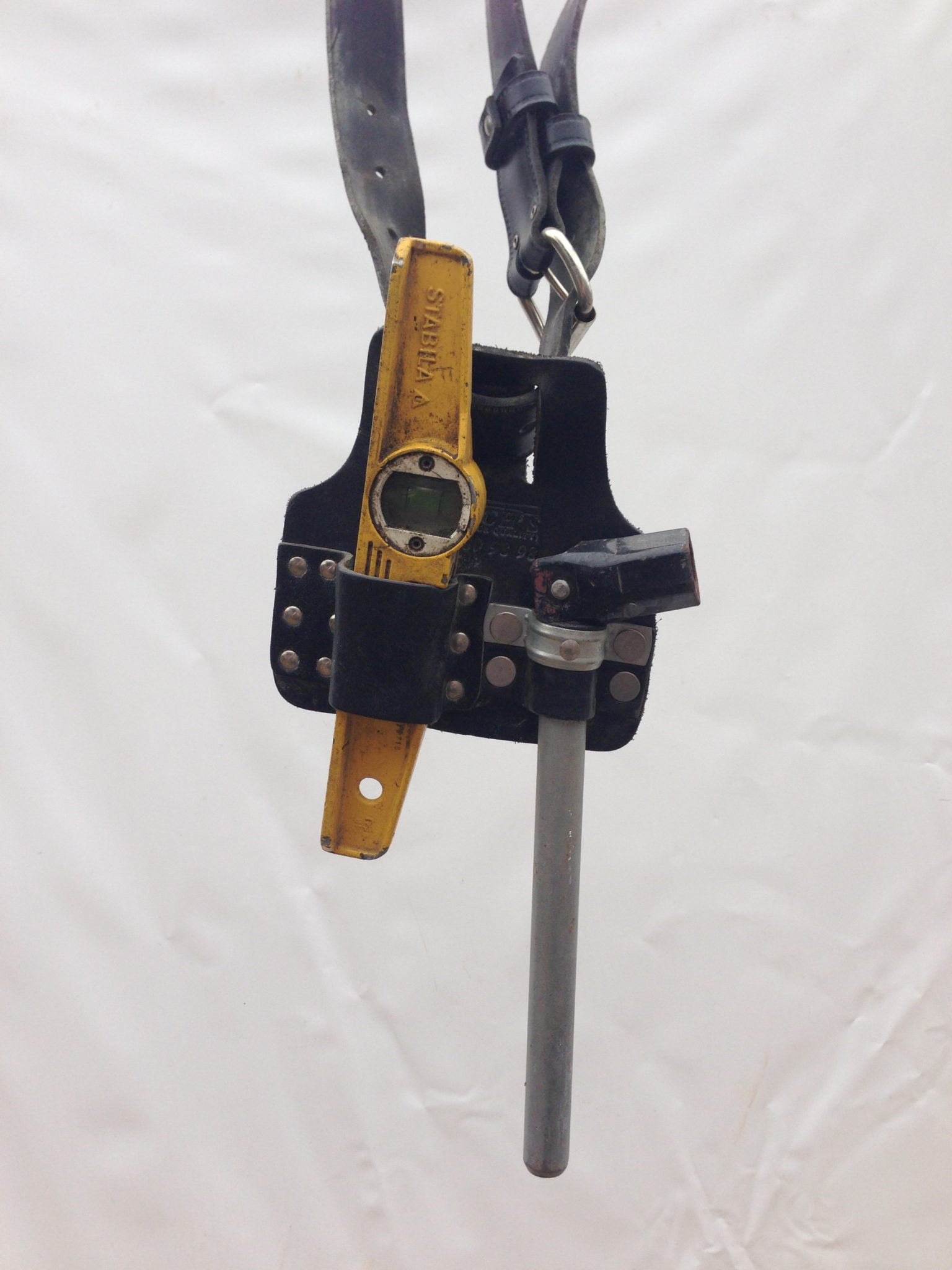 Scaffolders Tool Belt and Tools - Tool Belt