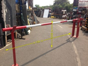 Barrier Arm 4 meter arm - Barrier Arm