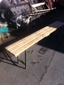 Wooden Bench 20 available - Seat