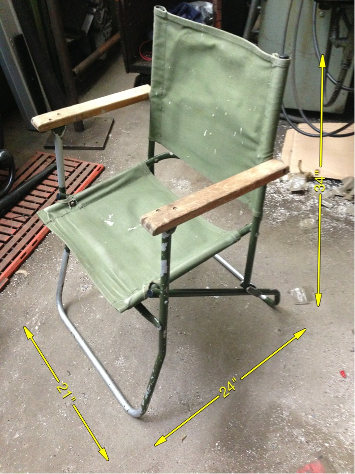 Military Seat - Folding Seat